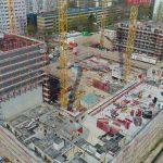 Dolgensee-Center Berlin im Bau: 675 Rohbaumodule auf bis zu 9 Etagen